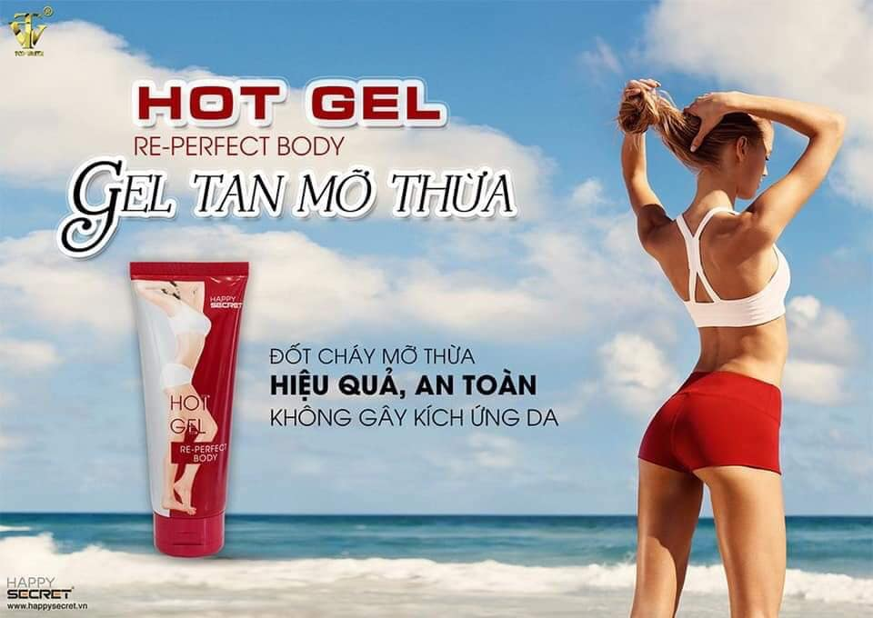 Hot Gel tan mỡ Top White