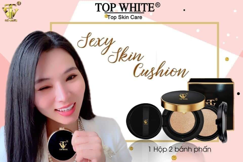 Phấn nước Sexy Skin Cushion Top White