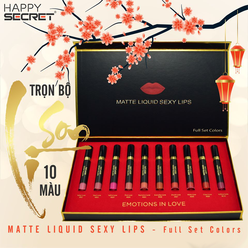 Son Matte Liquid Sexy Lips Top White
