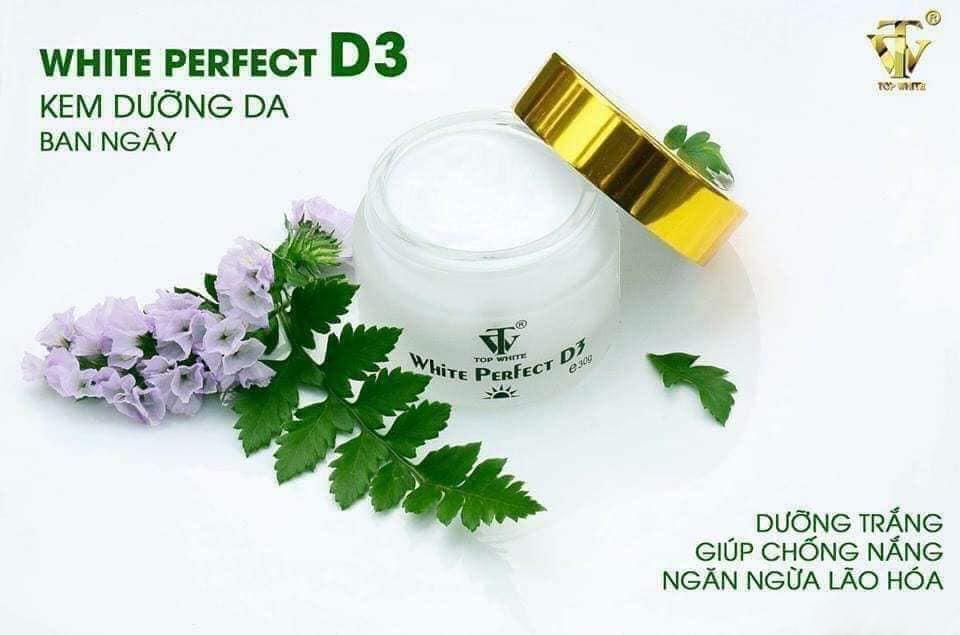 Kem dưỡng da ban ngày White Perfect D3 Top White