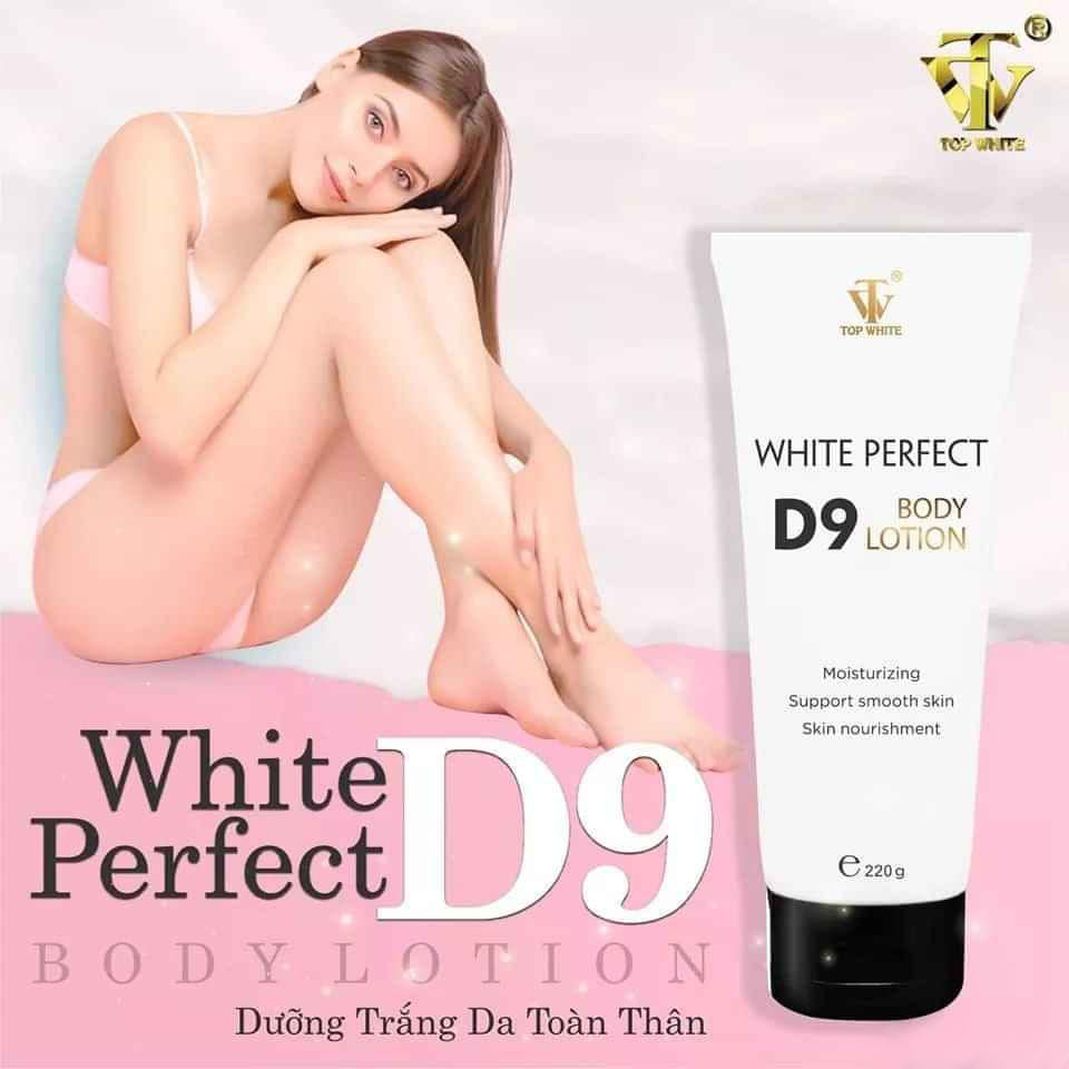 Kem dưỡng White Perfect Body D9 Top White