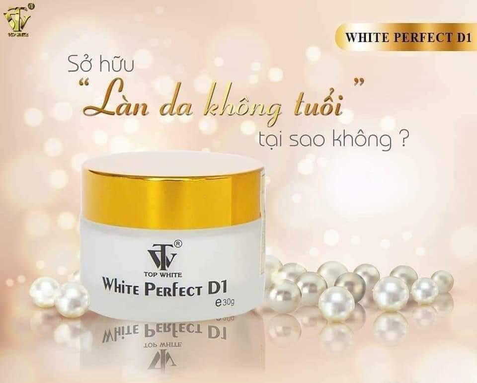 Kem trị Nám Tàn Nhang White Perfect D1 Top White