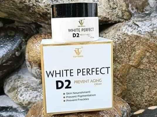 Lột xác làn da đen và thâm mụn với white perfect D2