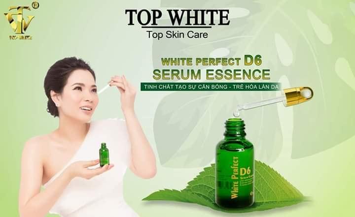 Sáng khỏe da - đẹp toàn diện cùng Serum White Perfect D6